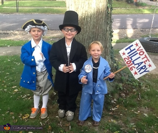 Great Presidents Group Costume