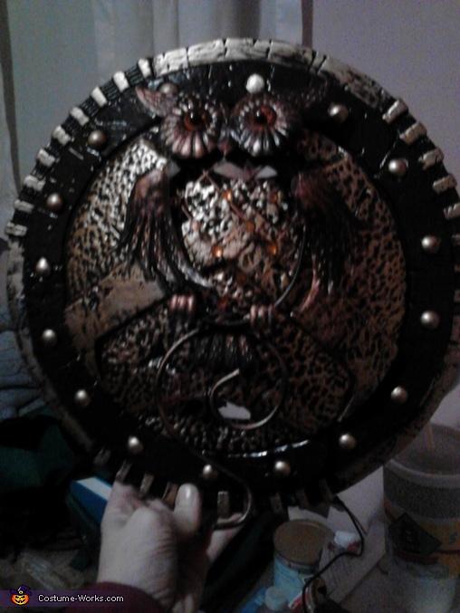 Athena's Shield, Greek Goddess Athena Costume