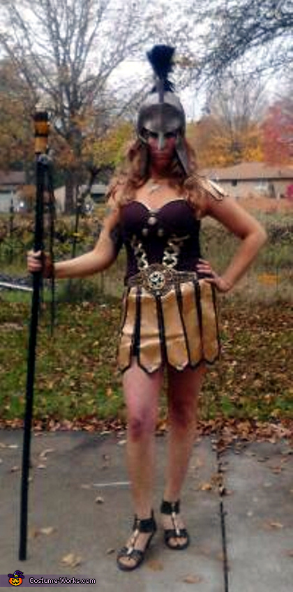 Greek Goddess Athena Costume