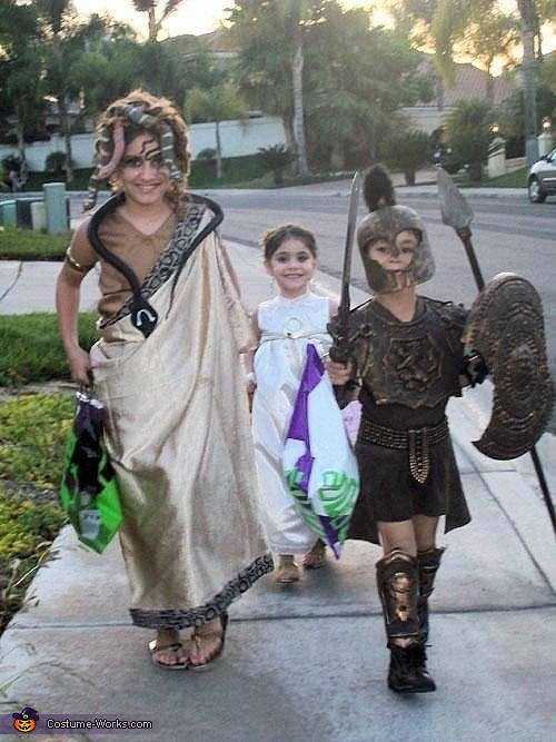 Greek Gods & Villains Costume