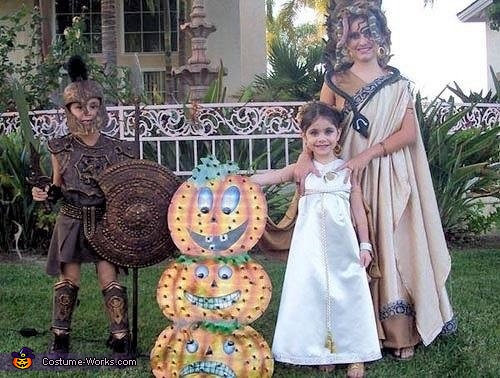 Achilles, Athena & Medusa, Greek Gods & Villains Costume