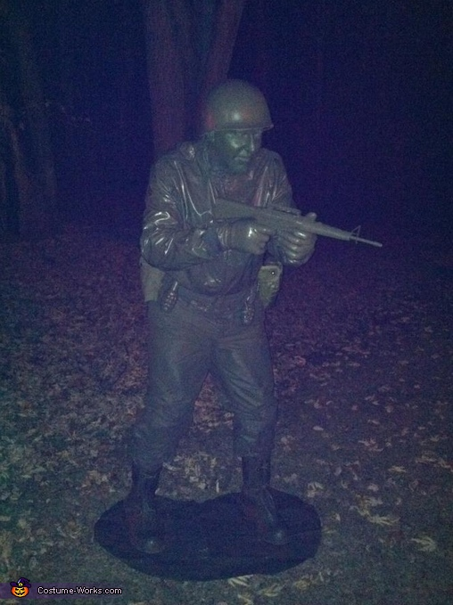 Green Army Man Halloween Costume