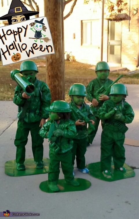 Green Army Men Costume