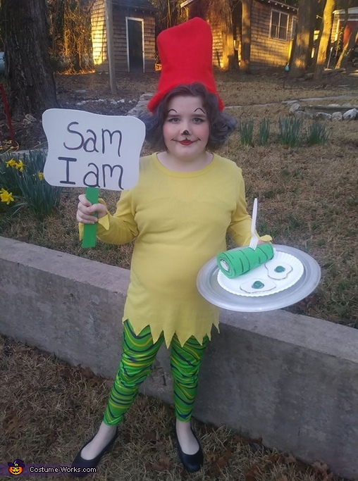 Green Eggs and Ham Dr. Seuss Costume