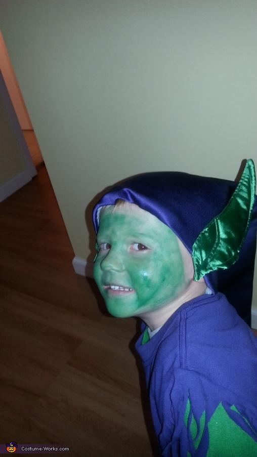 Green Goblin Homemade Costume