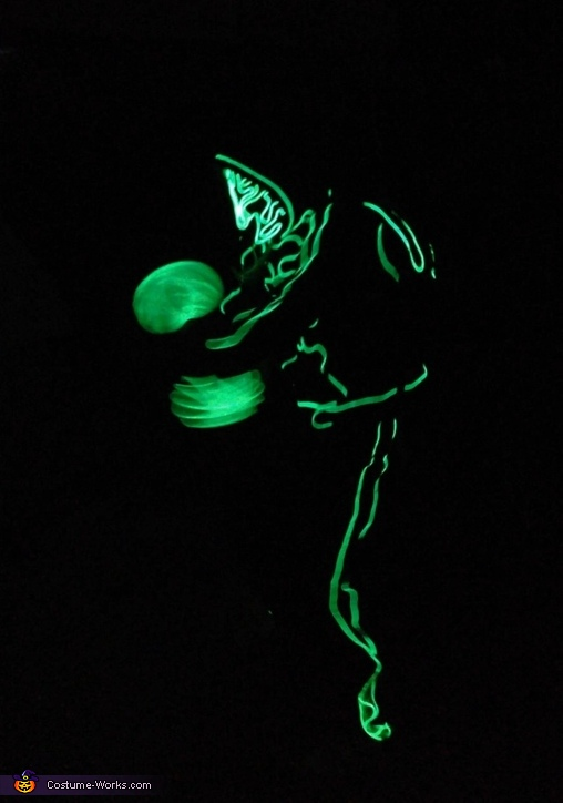 Green Man Homemade Costume