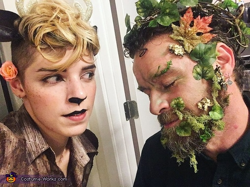 Green Man & the Faun Homemade Costume