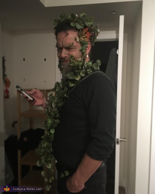 'Behind the Scenes' picture to show Mark's full outfit!, Green Man & the Faun Costume
