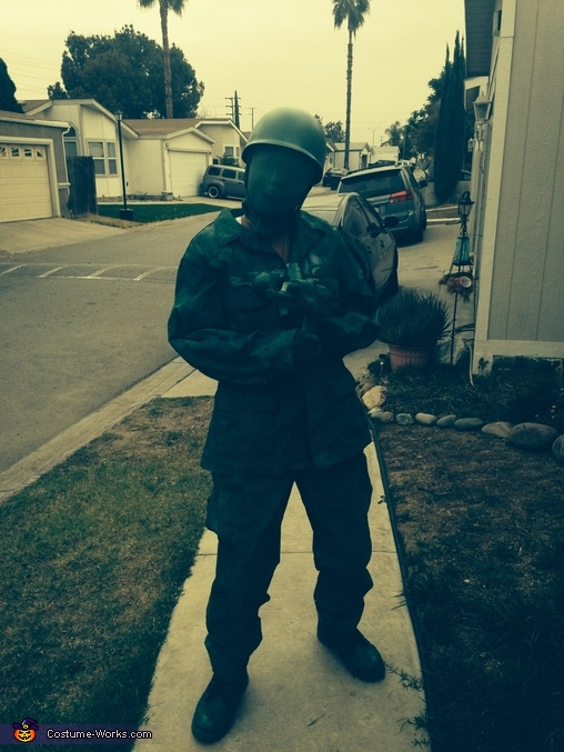 Green Toy Soldier Costume