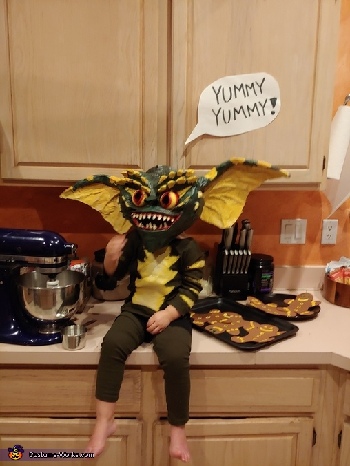Gremlin Homemade Costume
