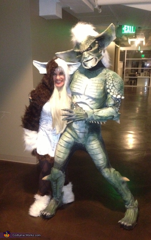 Gremlins Gizmo and Stripe Couple Costume