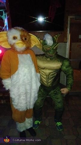 Gremlins Gizmo & Stripe Homemade Costume