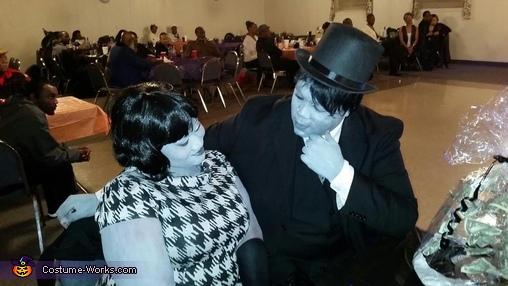 Greyscale Couple Homemade Costume