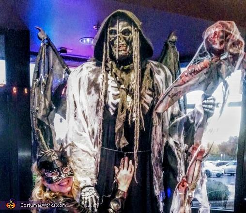Creepy, Grim Costume