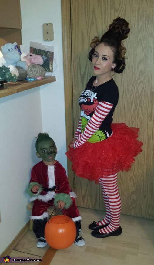 Hate Hate hate hate hate hate, Loath Entirely, Grinch and Cindy Lou Who Costume