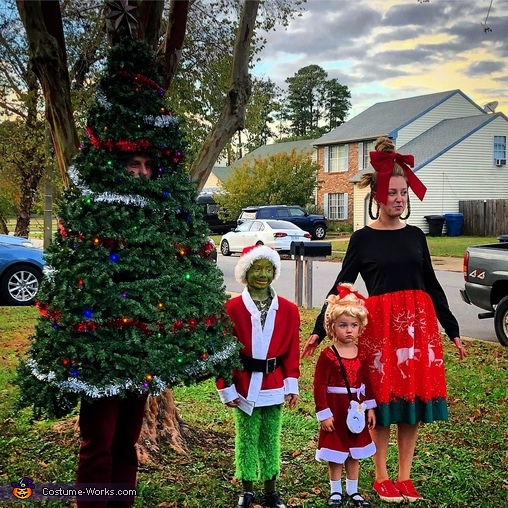 Grinch Christmas Theme Costume
