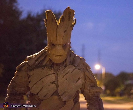 I AM GROOT, Groot Costume