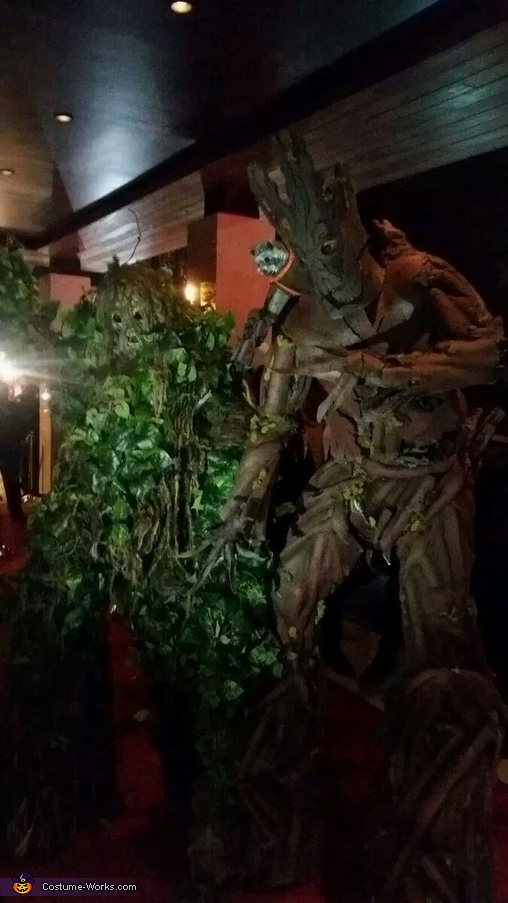 Coolest DIY Groot Costume