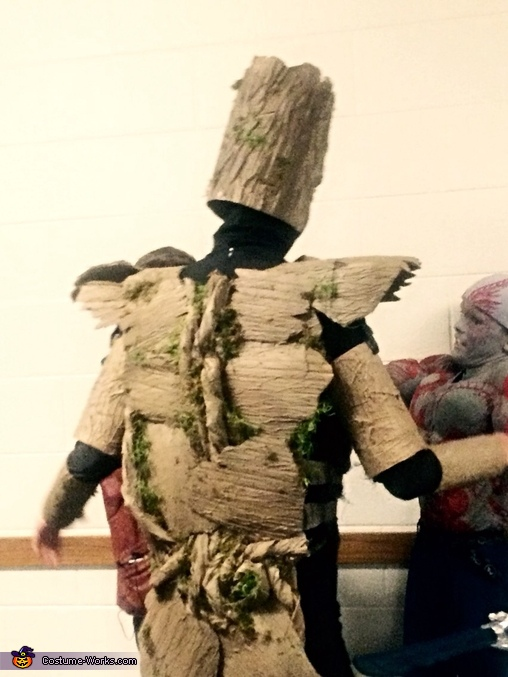 Groot backside, Groot Costume