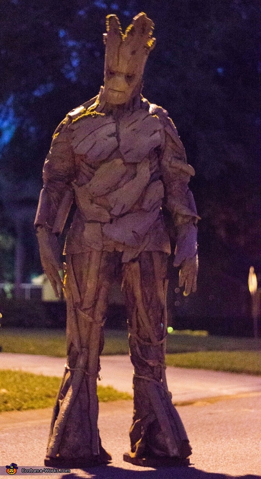 GROOT AND HIS DATE, Groot Costume