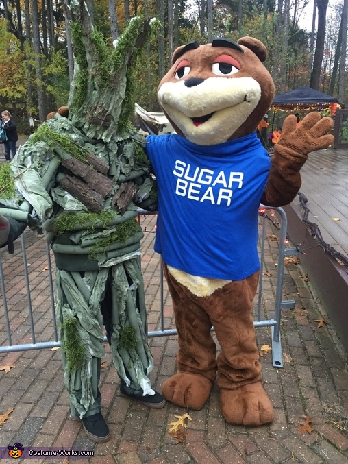 GROOT with Sugar Bear, Groot Costume