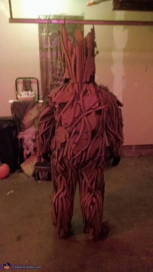 Groot Back, Groot Costume