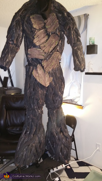 Making Groot, Groot Costume