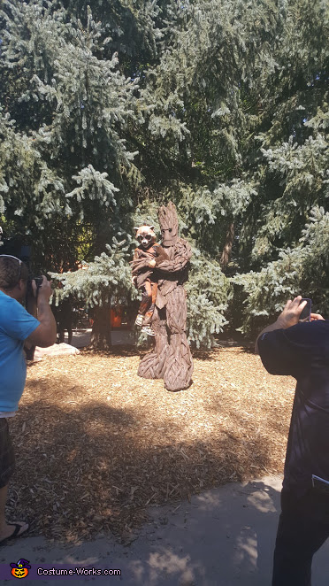 Son and Husband, Groot Costume