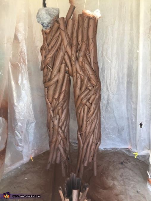 Groot Homemade Costume