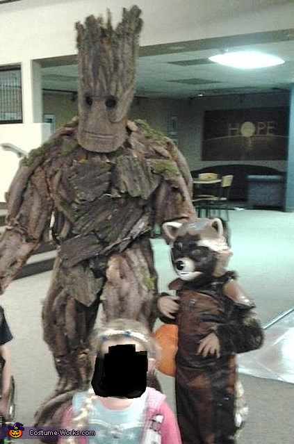 Groot from Guardians of the Galaxy Costume