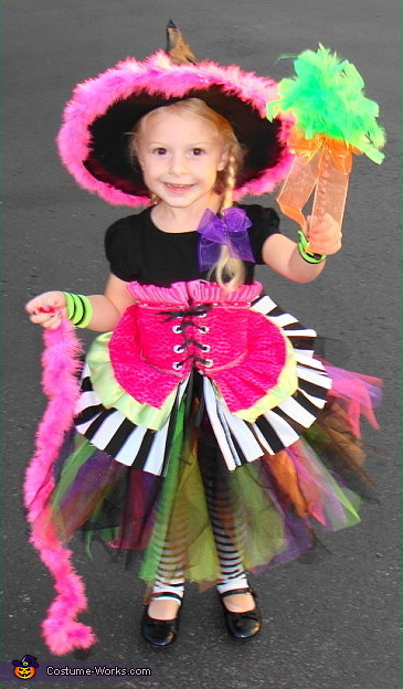 Groovy Witch - Homemade costumes for girls
