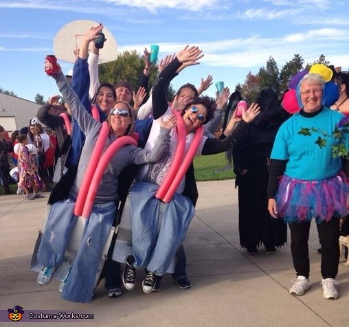 Group Rollercoaster Costume