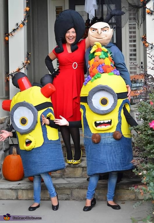 Gru and Minions Costume