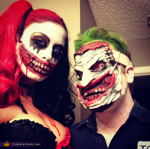 Gruesome Joker and Harley Quinn Costume