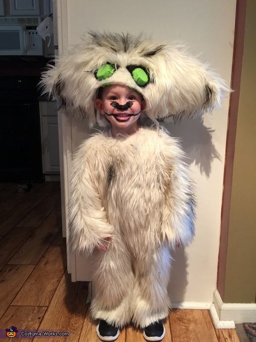 Gruff the Neverbeast Costume