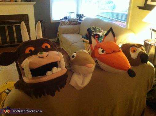 Characters from The Gruffalo, Gruffalo Characters Costume