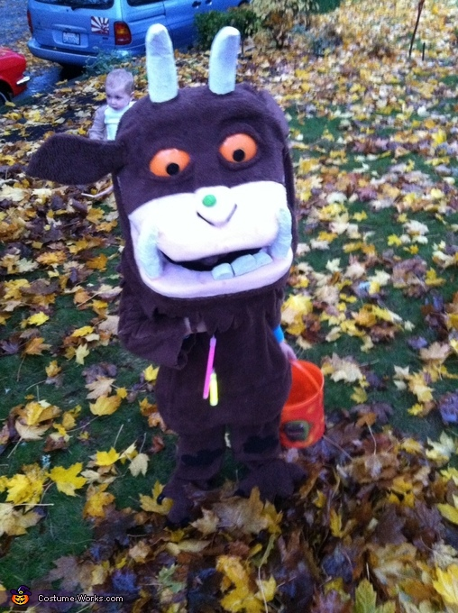 Miles Riley as The Gruffalo, Gruffalo Characters Costume