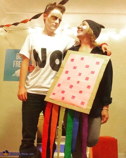 Grumpy Cat and Nyan Cat Costume