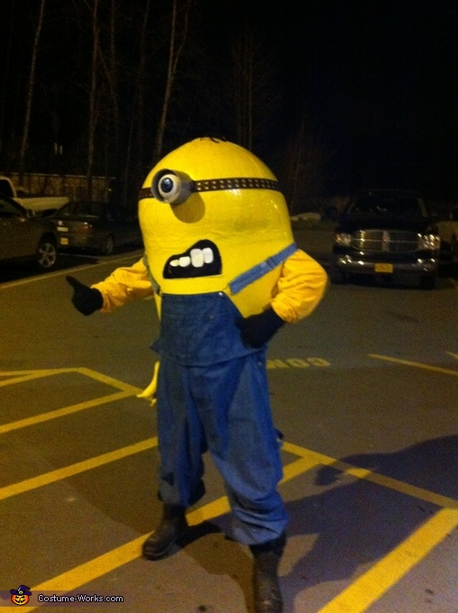Hitching A Ride, Gru's Minion Costume