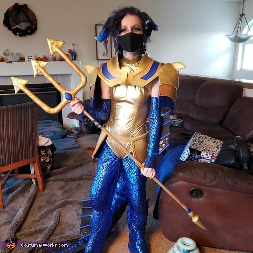 Guardian Sea Dragon & Fire Dragon Homemade Costume