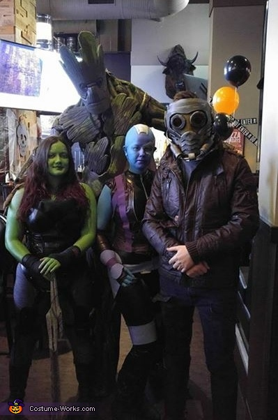 Guardians Of The Galaxy Group Costume