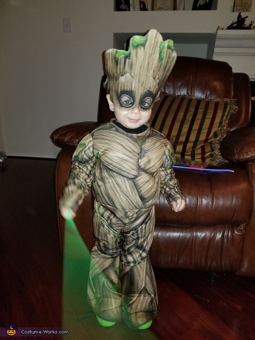 Baby Groot, Wyatt 2, Guardians of the Galaxy Costume