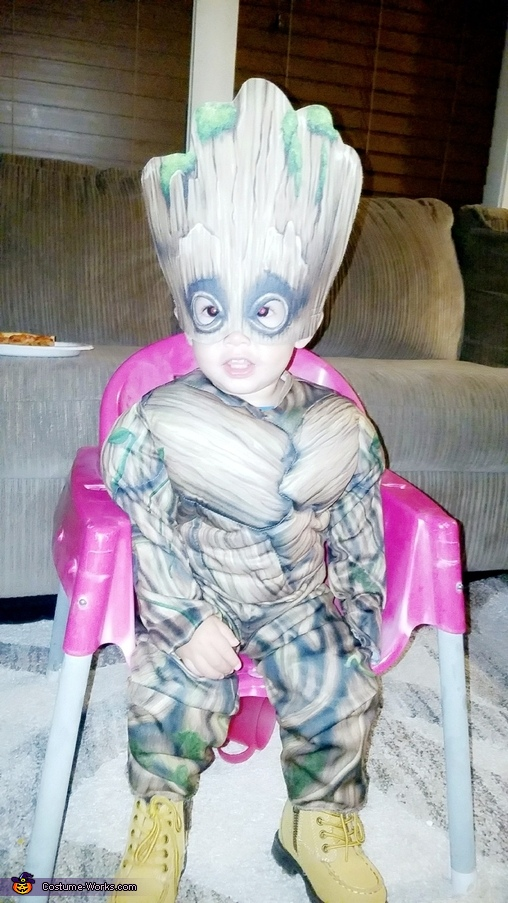 Our son as Groot, Guardians of the Galaxy Costume