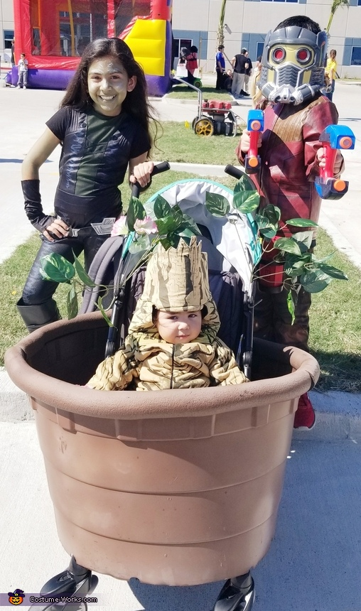 Guardians of the Galaxy 2 Family Homemade Costume