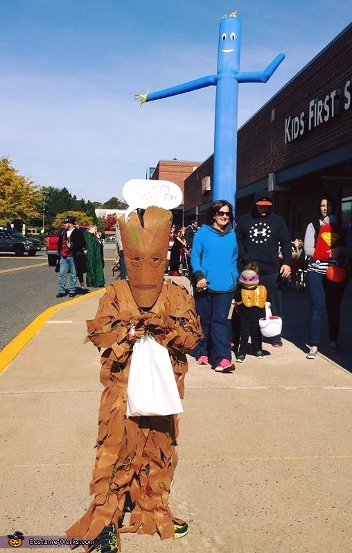 Guardians of the Galaxy Groot Costume for Boys