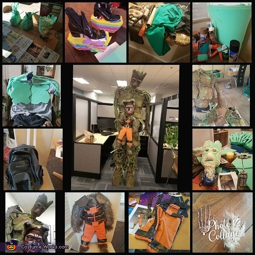 The making of Rocket and Groot, Guardians of the Galaxy Rocket and Groot Costume