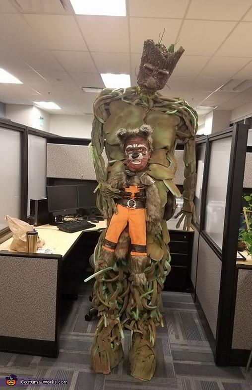 Guardians of the Galaxy Rocket and Groot Costume