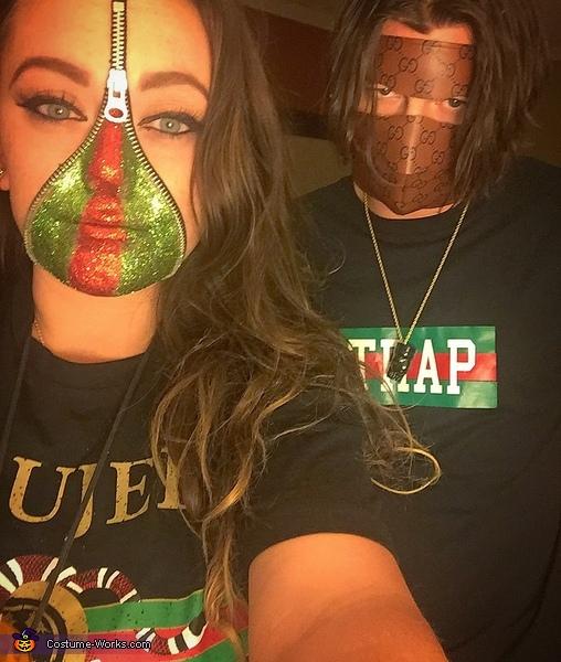Gucci Couple Costume