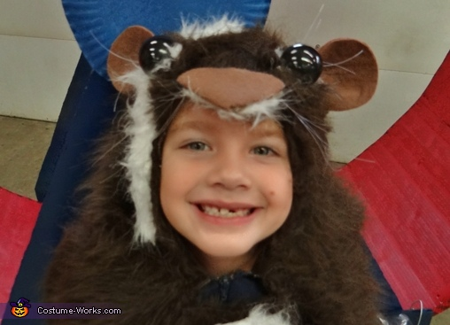This smile makes it all worth while!!,  Guinea Pig Costume