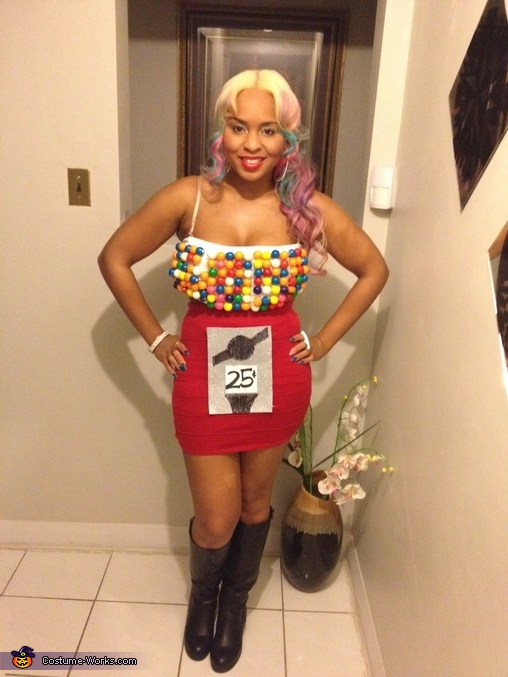 Gum Ball Machine Costume